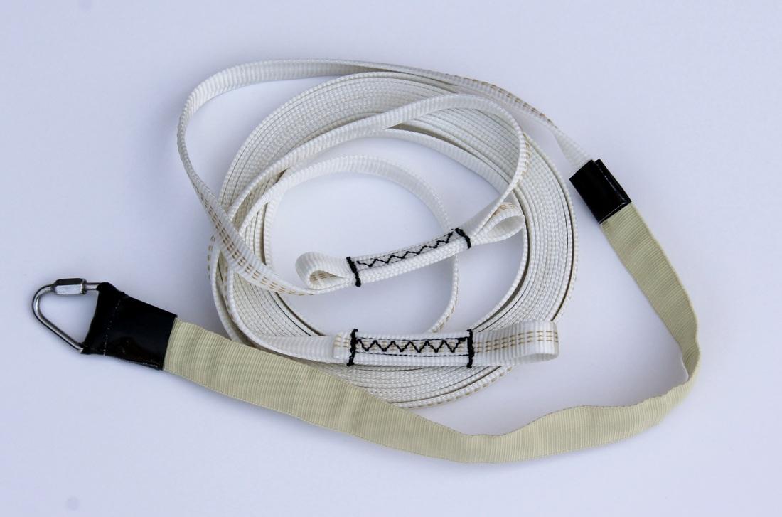 9 16 Tubular Nylon W Kevlar Sleeve 3 Loop