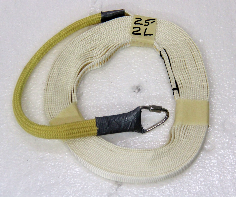 9 16 Tubular Nylon W Kevlar Sleeve 2 Loop